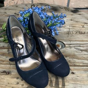 Navy blue/ blue Alfani Pumps 6